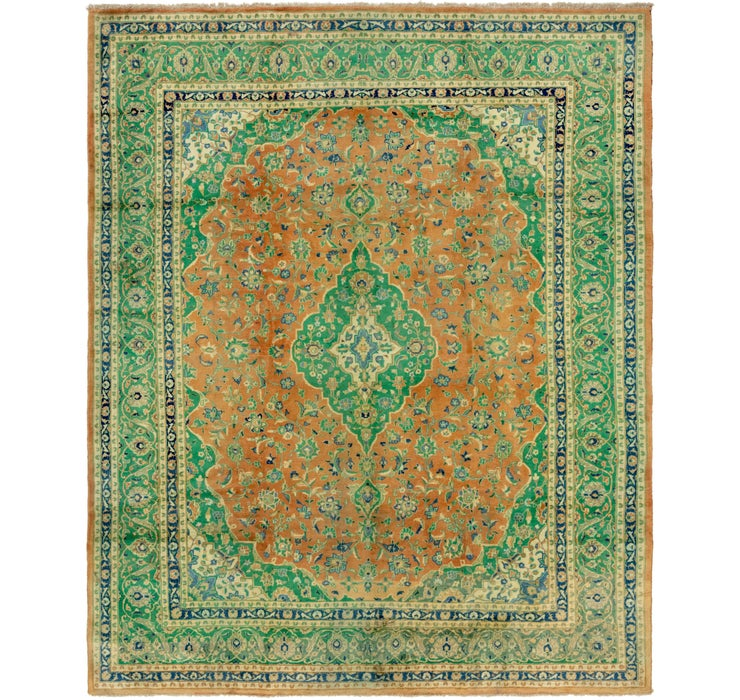 300cm x 378cm Mashad Persian Rug