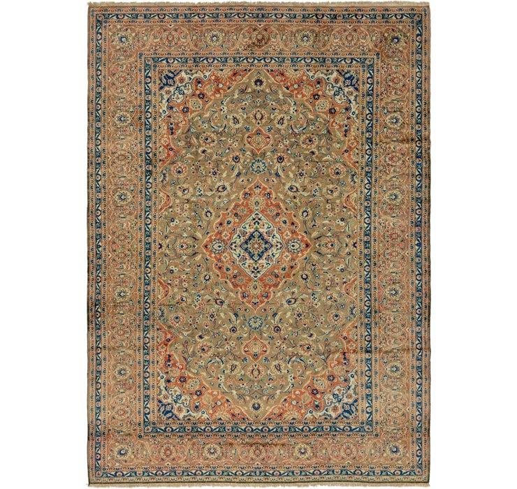 275cm x 380cm Kashan Persian Rug