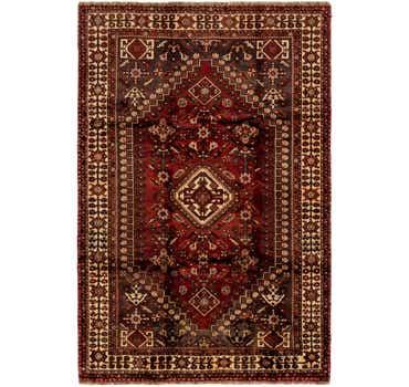 Image of 5' 4 x 8' 3 Ghashghaei Persian Rug