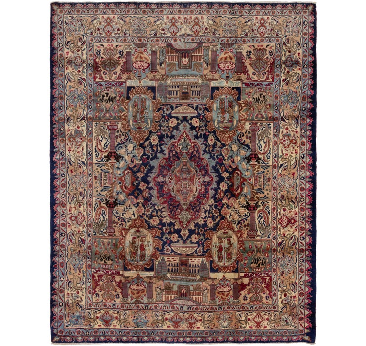 295cm x 380cm Kashmar Persian Rug
