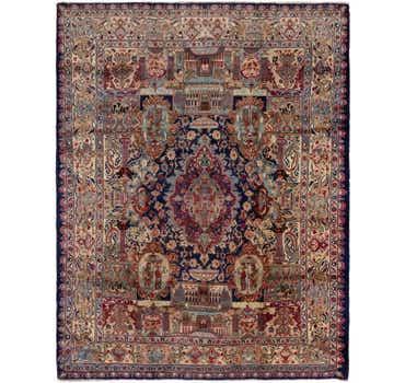 9' 8 x 12' 6 Kashmar Persian Rug