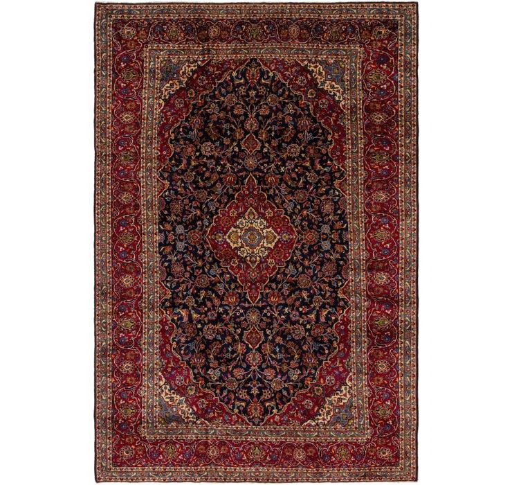 290cm x 440cm Kashan Persian Rug