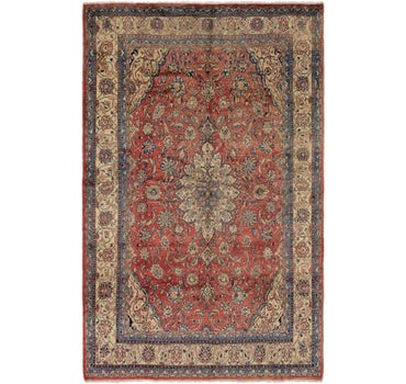 8' 2 x 13' 3 Sarough Persian Rug main image