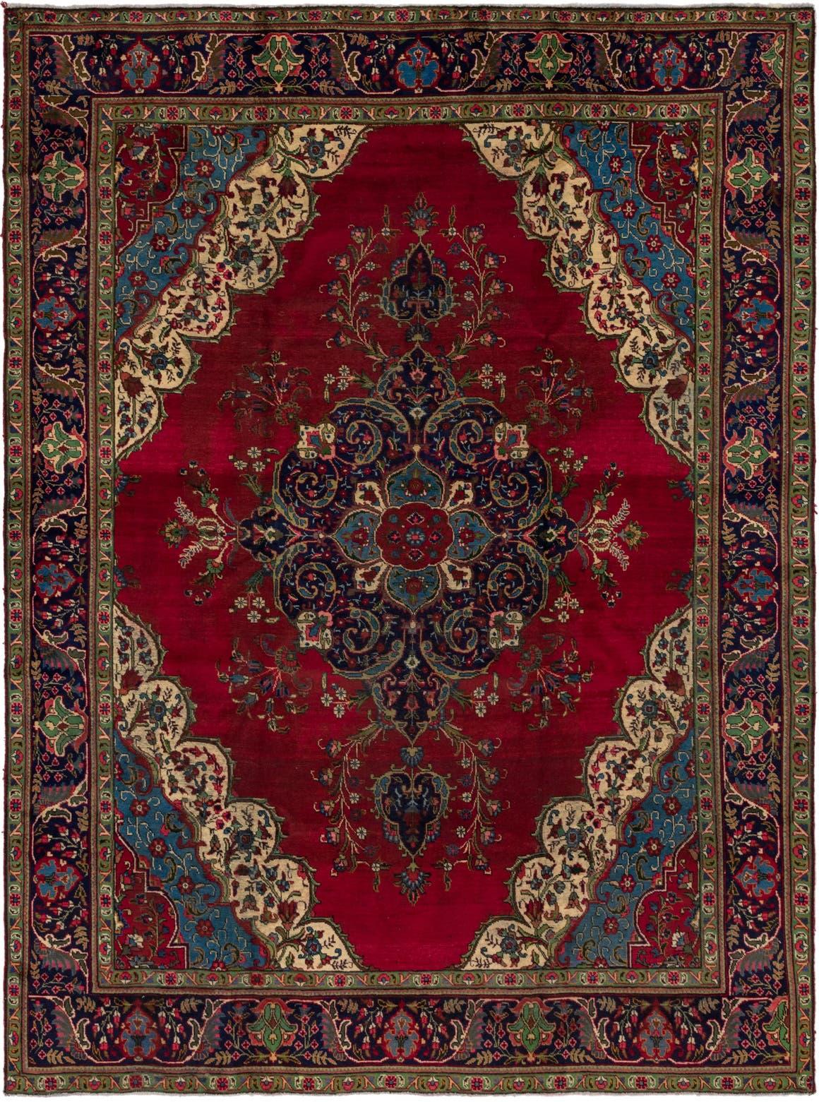 9' 8 x 13' 2 Tabriz Persian Rug main image