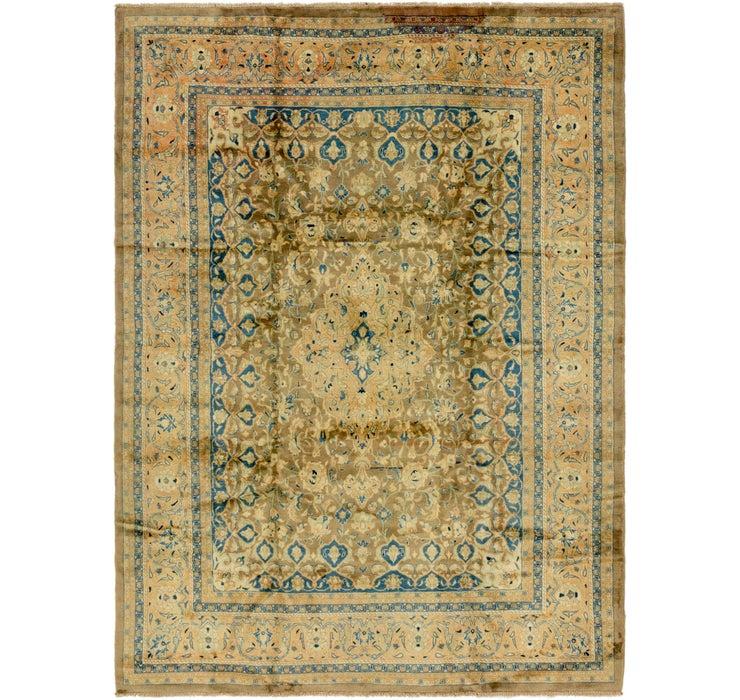 9' x 12' Mashad Persian Rug