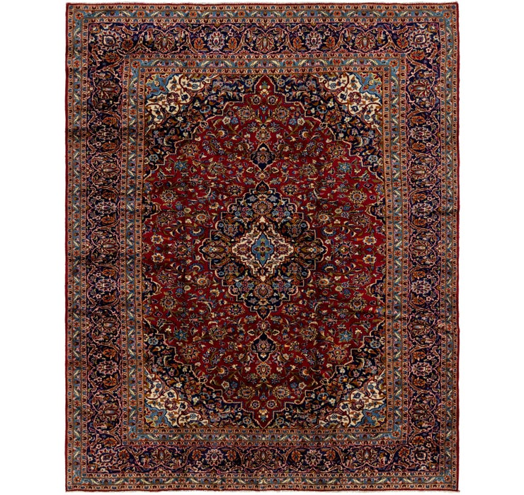 10' x 12' Kashan Persian Rug