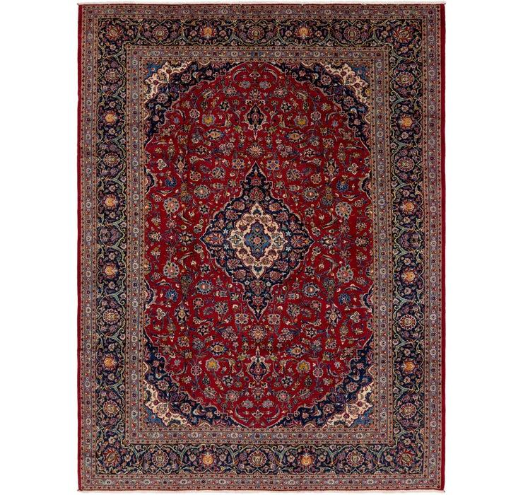 10' 3 x 14' Kashan Persian Rug