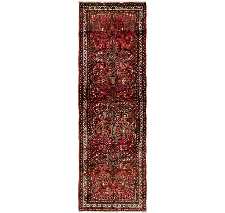 Image of 102cm x 310cm Mehraban Persian Runner...