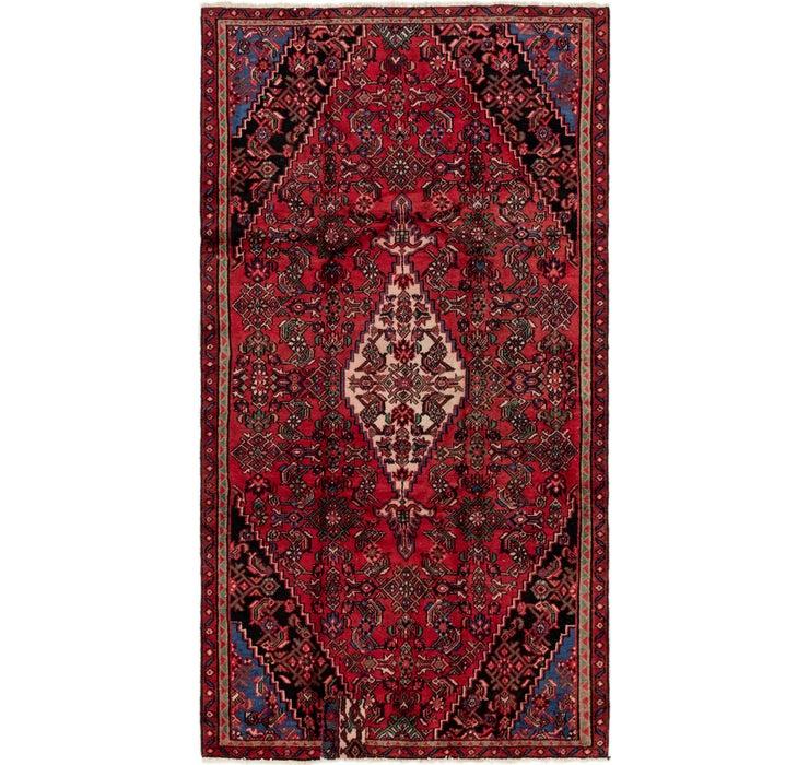 5' 2 x 9' 6 Hamedan Persian Rug