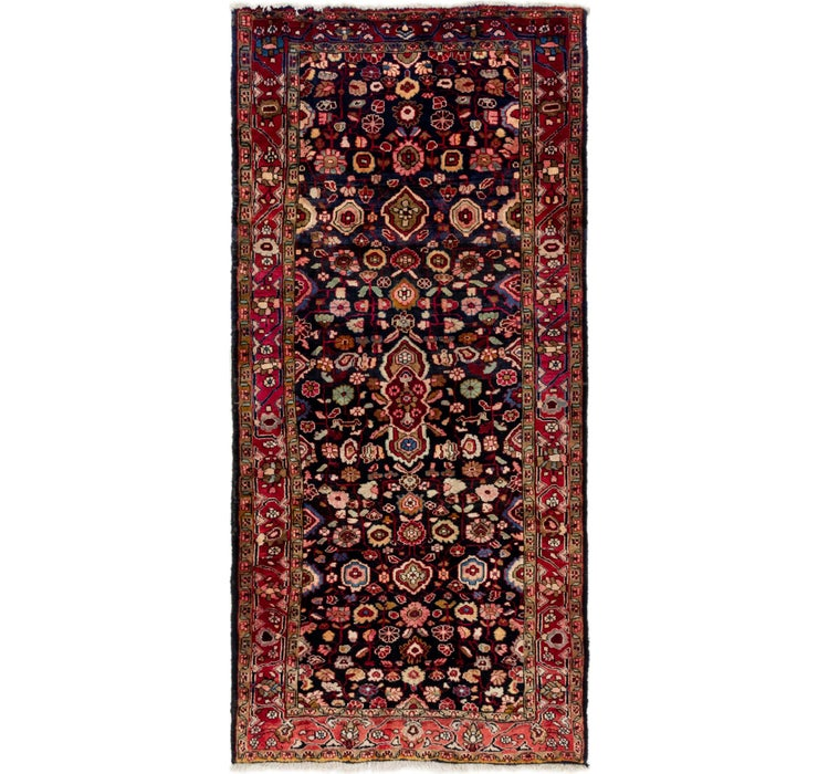 4' 4 x 9' Gholtogh Persian Runner...