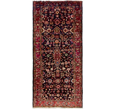4' 4 x 9' Gholtogh Persian Runner Rug main image