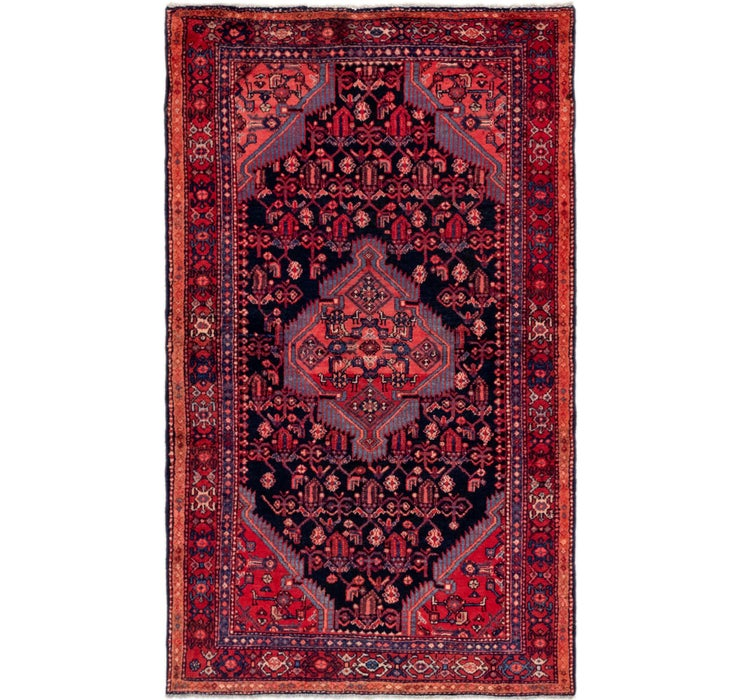 130cm x 213cm Hossainabad Persian Rug
