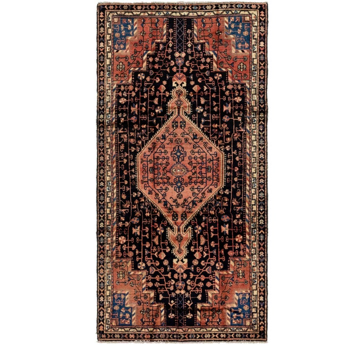 4' 7 x 9' 7 Tuiserkan Persian Rug