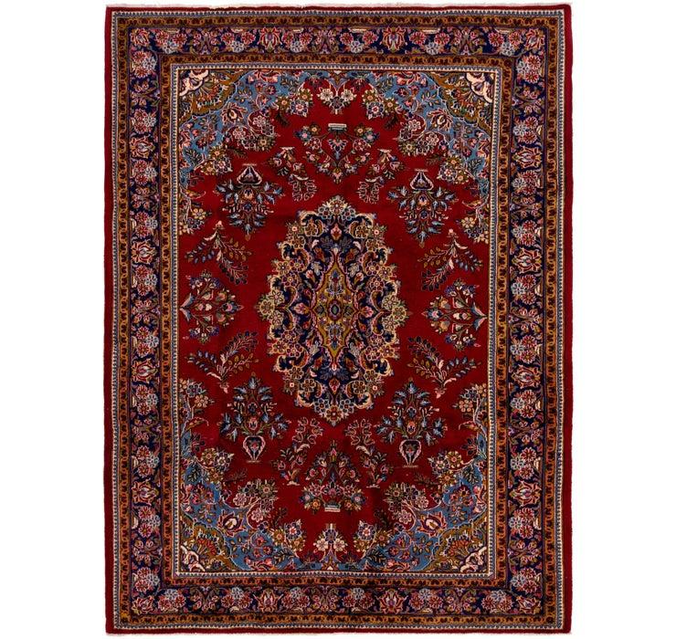 7' 6 x 10' Kashan Persian Rug