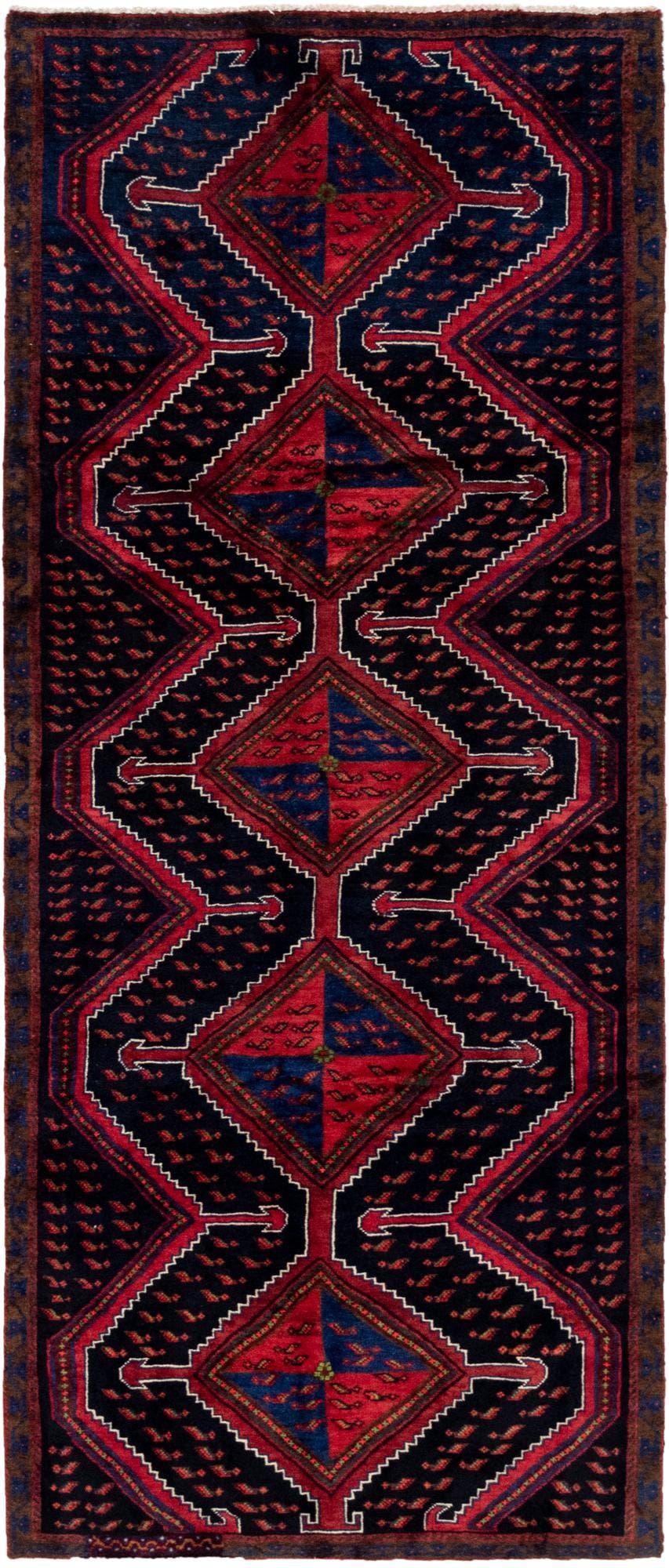3' 9 x 9' Zanjan Persian Runner Rug main image