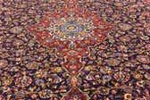 9' 10 x 14' Kashan Persian Rug thumbnail
