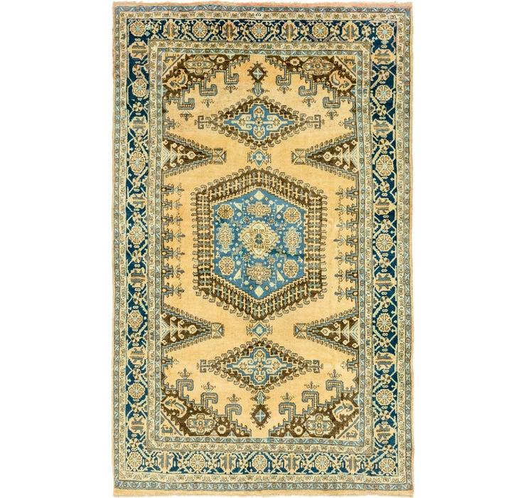 7' 7 x 12' 3 Viss Persian Rug
