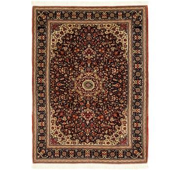 4' 8 x 6' 5 Qom Persian Rug main image