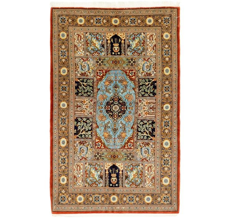 105cm x 175cm Qom Persian Rug