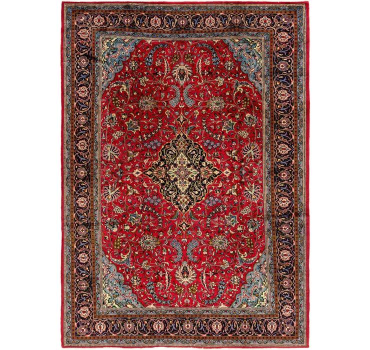 257cm x 358cm Mahal Persian Rug
