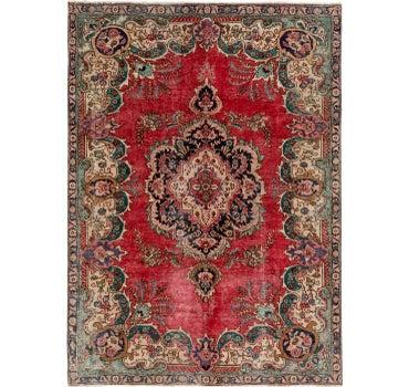 7' x 9' 9 Tabriz Persian Rug main image