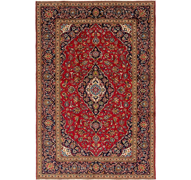 8' 2 x 12' 2 Kashan Persian Rug