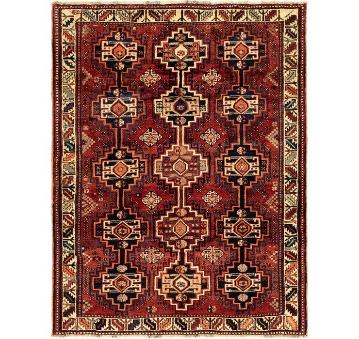 160cm x 213cm Ghashghaei Persian Rug