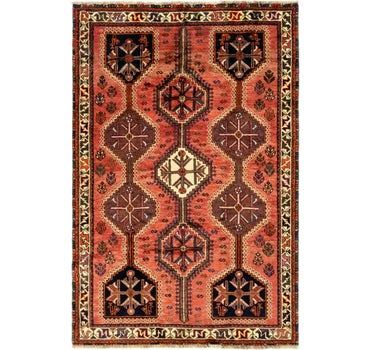 4' 8 x 7' Ghashghaei Persian Rug main image