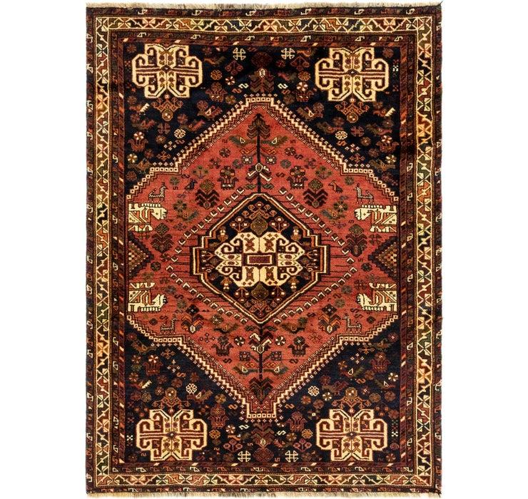 152cm x 213cm Ghashghaei Persian Rug
