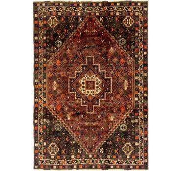 5' 10 x 8' 8 Ghashghaei Persian Rug main image