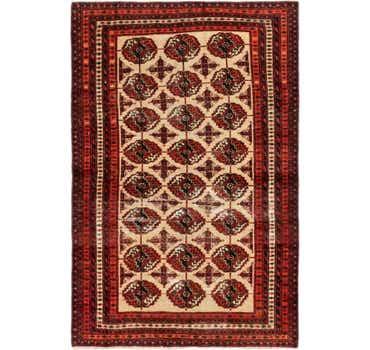Image of 3' 9 x 5' 8 Shiraz Persian Rug