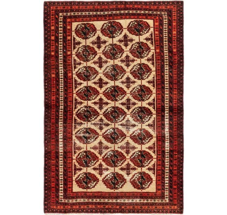 3' 9 x 5' 8 Shiraz Persian Rug
