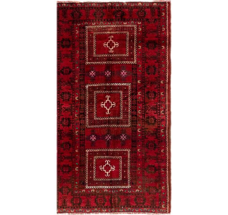 3' 10 x 6' 9 Shiraz Persian Rug