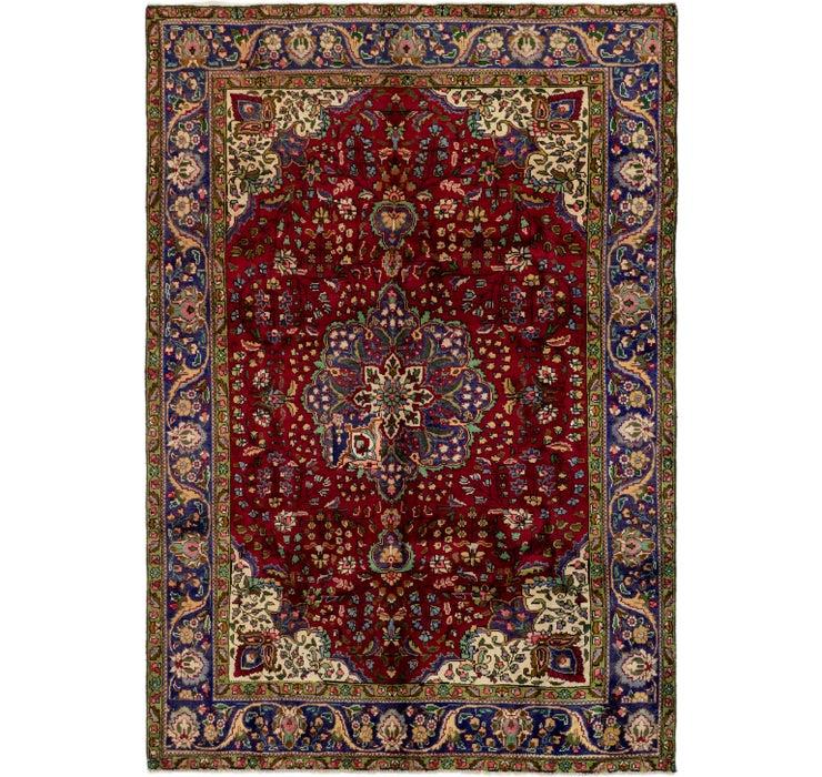 6' 9 x 9' 9 Tabriz Persian Rug