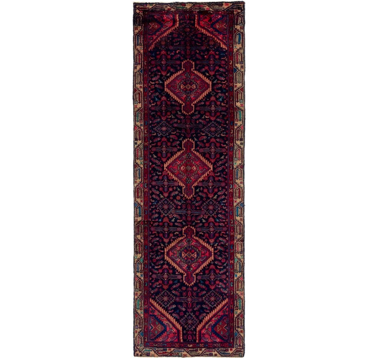 Image of 97cm x 305cm Darjazin Persian Runner...