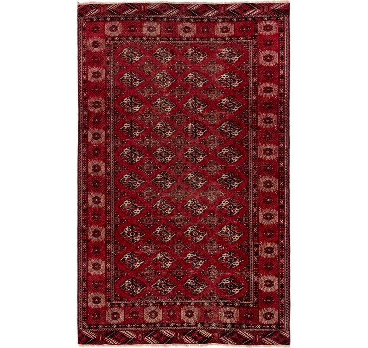 5' 5 x 8' 8 Shiraz Persian Rug