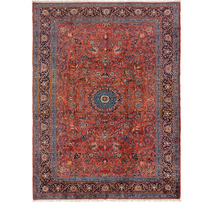 290cm x 390cm Sarough Persian Rug