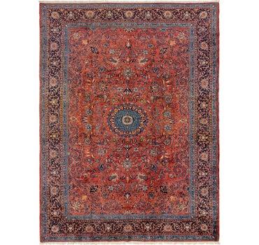 9' 6 x 12' 10 Sarough Persian Rug main image