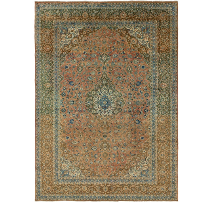 323cm x 450cm Kashan Persian Rug