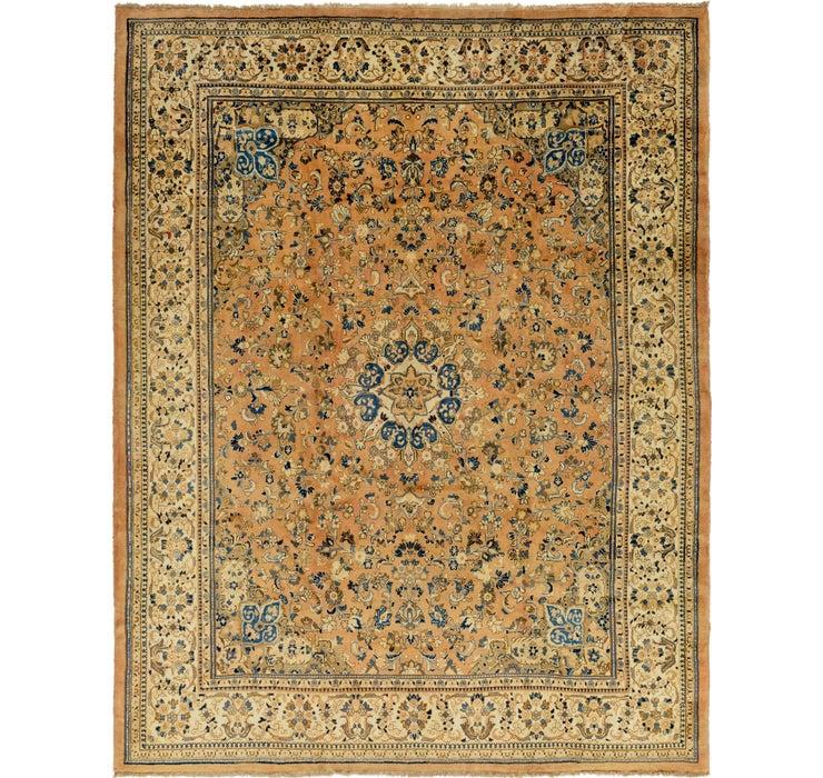 323cm x 417cm Meshkabad Persian Rug