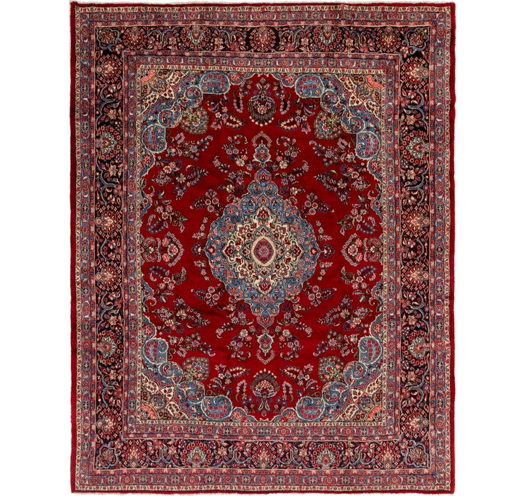 10' 7 x 13' 2 Shahrbaft Persian Rug
