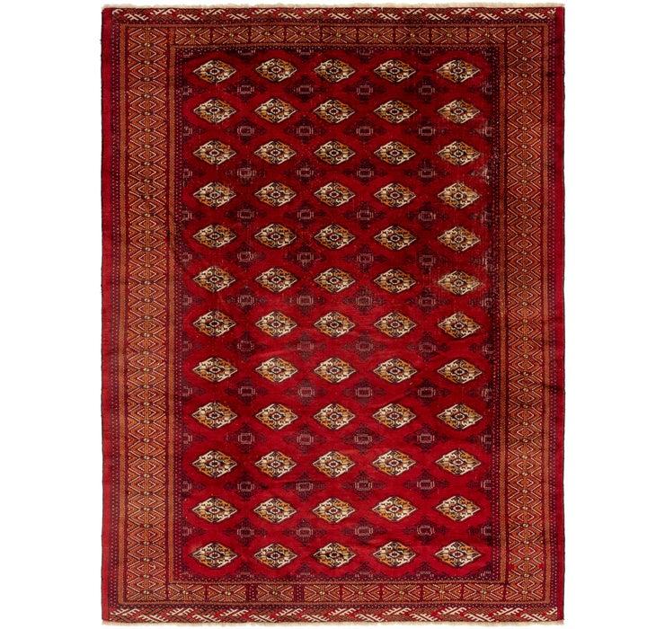 8' 3 x 11' 2 Torkaman Persian Rug