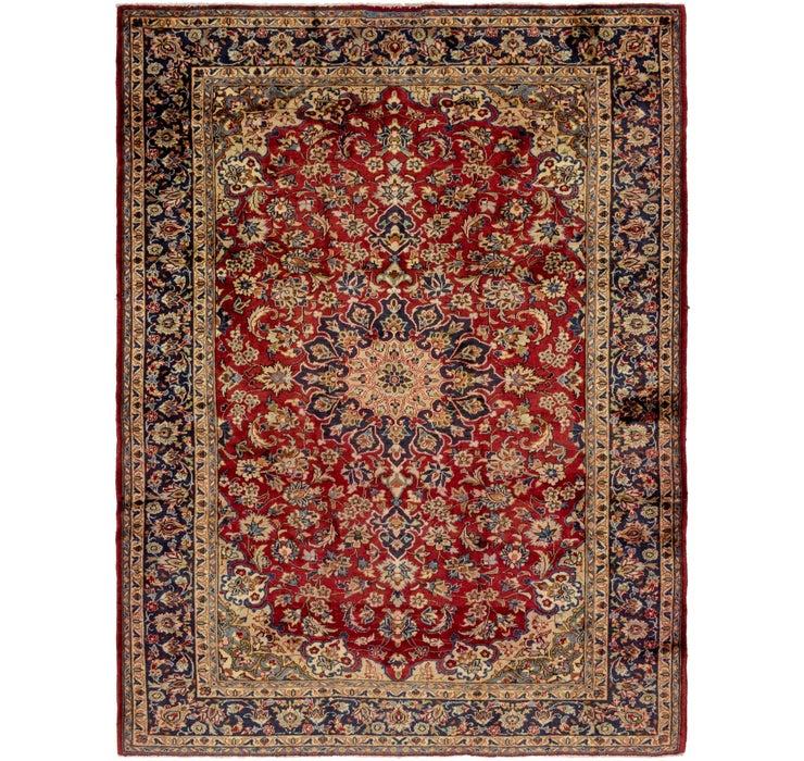 7' 7 x 10' Isfahan Persian Rug