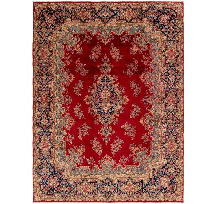 9' 10 x 13' Kerman Persian Rug