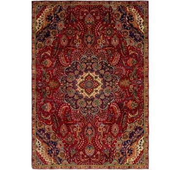 7' 2 x 10' 4 Tabriz Persian Rug main image