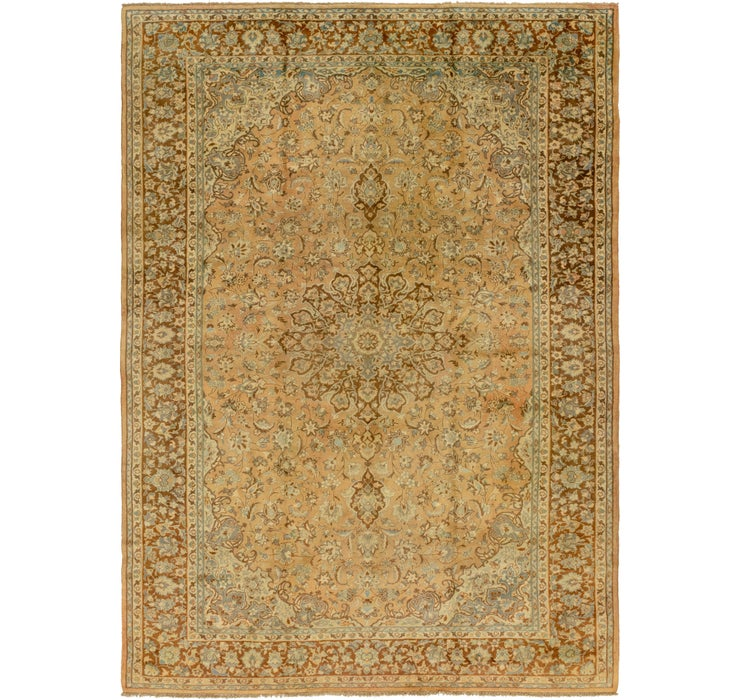 9' 8 x 13' 5 Mashad Persian Rug