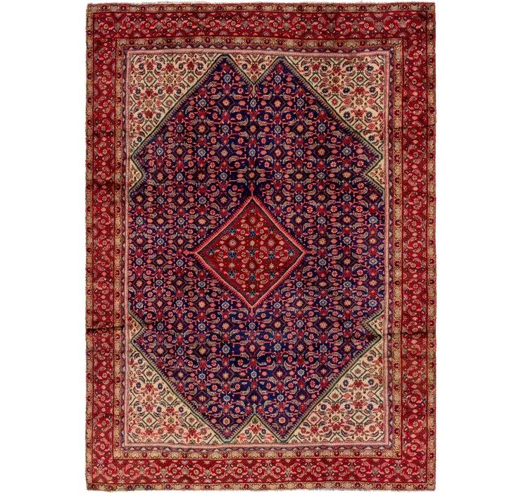 270cm x 370cm Farahan Persian Rug