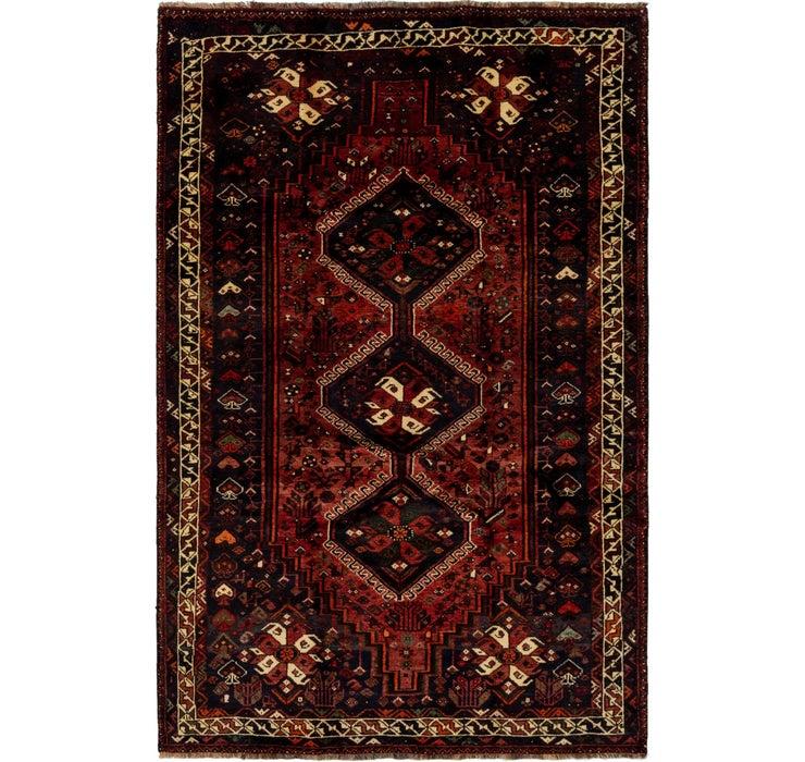 5' 8 x 8' 6 Ghashghaei Persian Rug