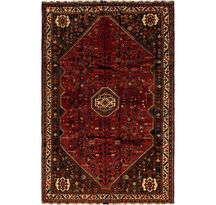 5' 7 x 8' 6 Ghashghaei Persian Rug