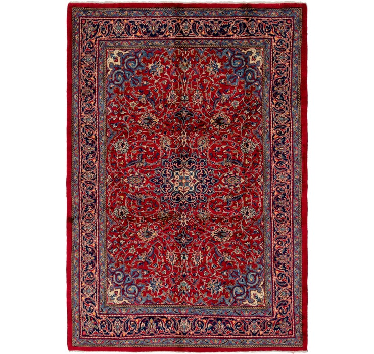 7' 3 x 10' 8 Sarough Persian Rug